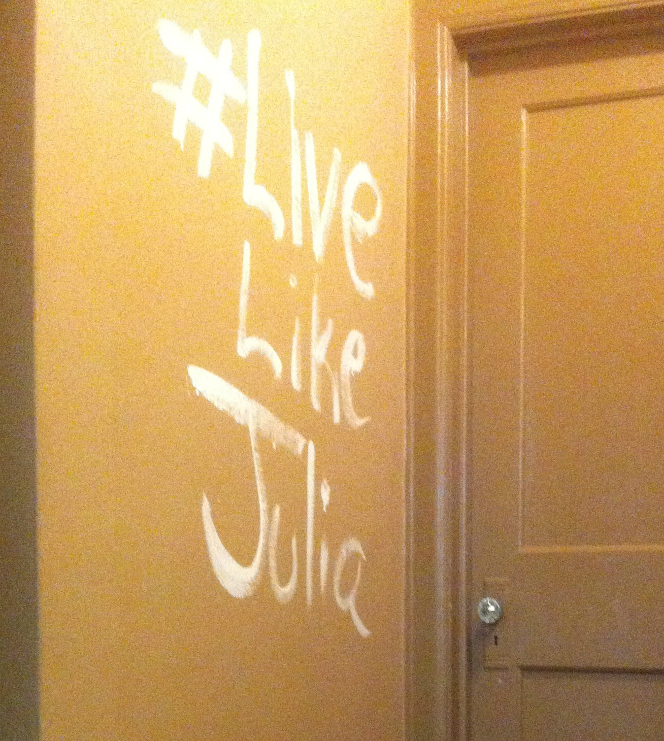 Live Like Julia (7): Savor Life Lessons and Write About Them